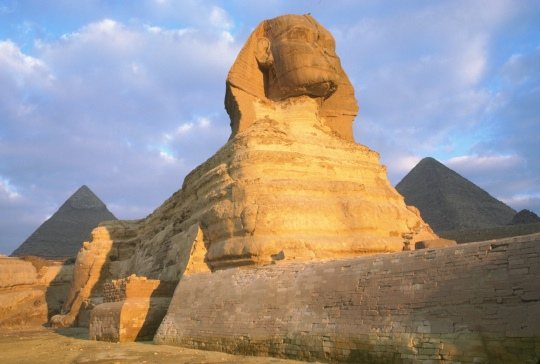 Egypte – Le sphinx de Gizeh