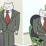 Si votre patron était un chat…