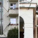 En Suisse, ces échelles permettent aux chats d'appartement de sortir et de rentrer quand ils le souhaitent