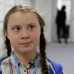 Teenage activist Greta Thunberg is seen inside the venue of the COP24 U.N. Climate Change Conference 2018 in Katowice, Poland December 4, 2018. REUTERS/Kacper Pempel